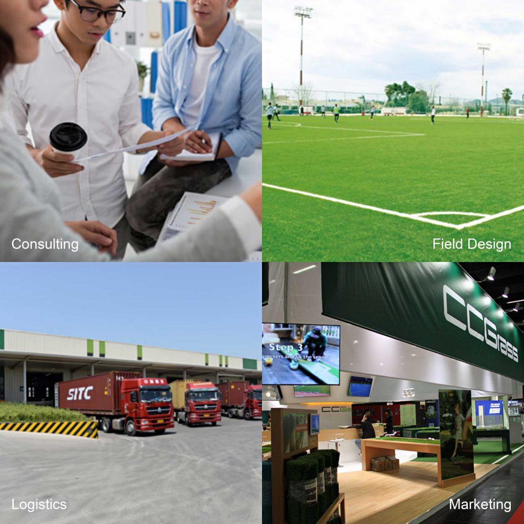 CCGrass, artificial grass company, our service