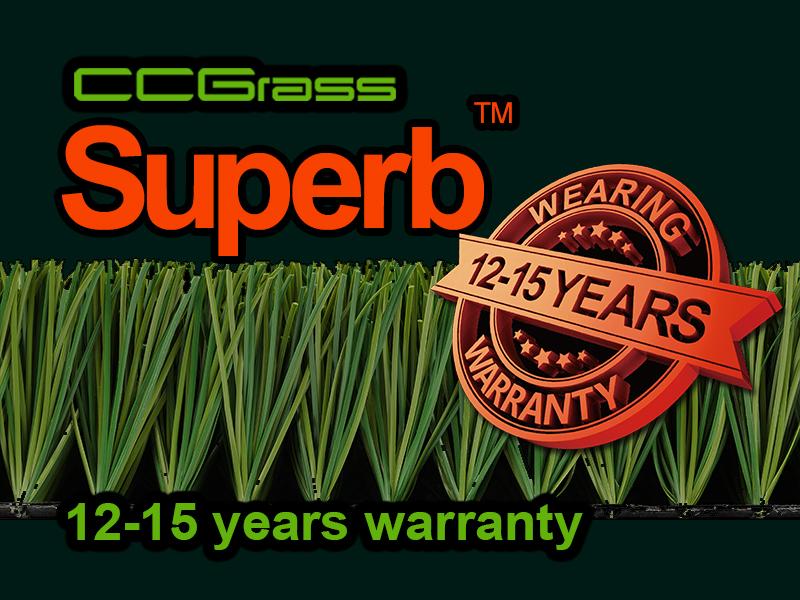 CCGrass, artificial grass fibres, Superb