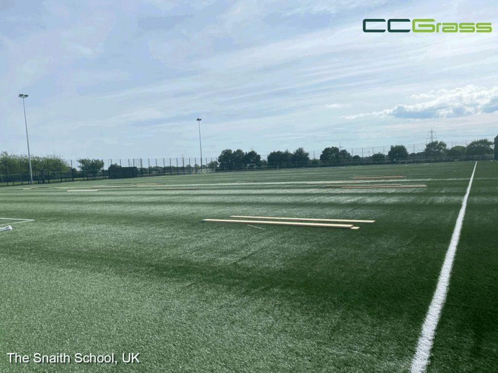 CCGrass, football feild, the Snaith School, UK