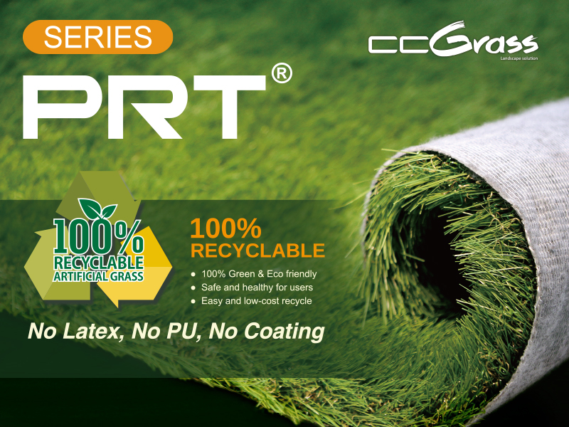 CCGrass, artificial grass product, 100% recyclable
