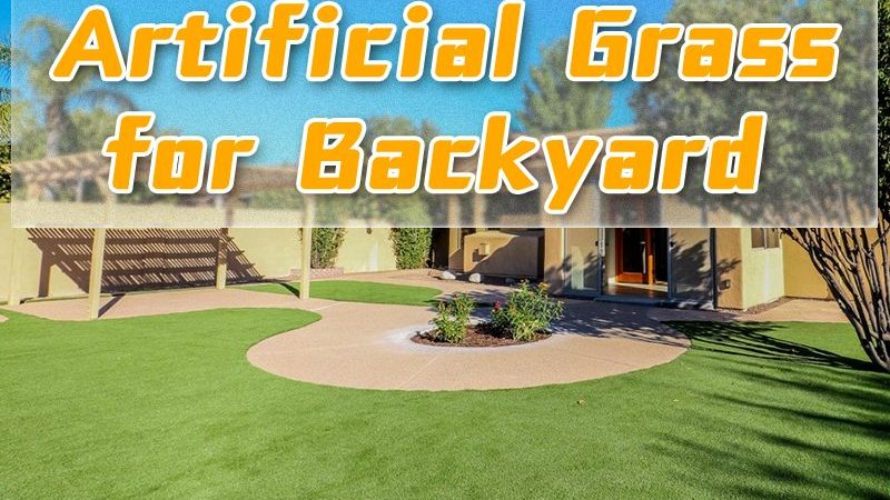 Time to Install Artificial Grass for Backyard!