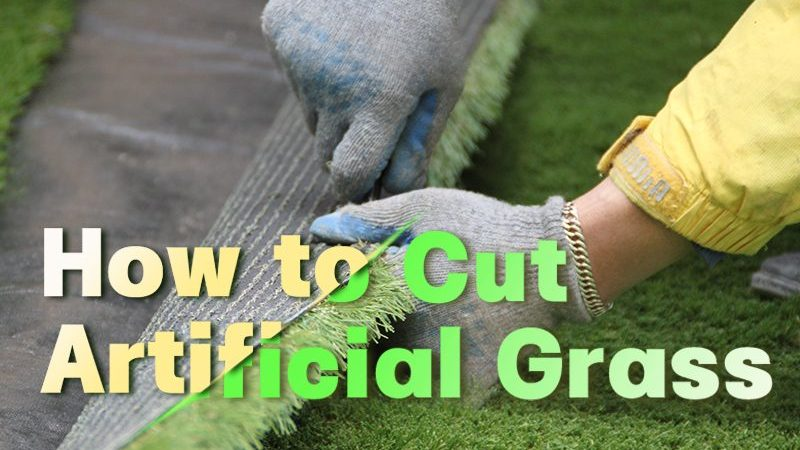 How to Cut Artificial Grass Perfectly