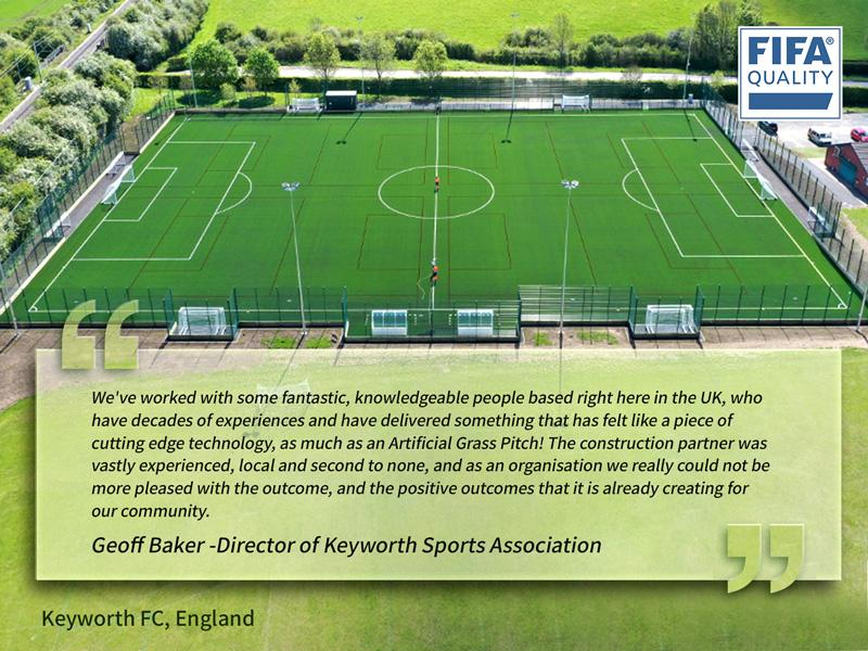 CCGrass, football field, Keyworth United Community Football Club