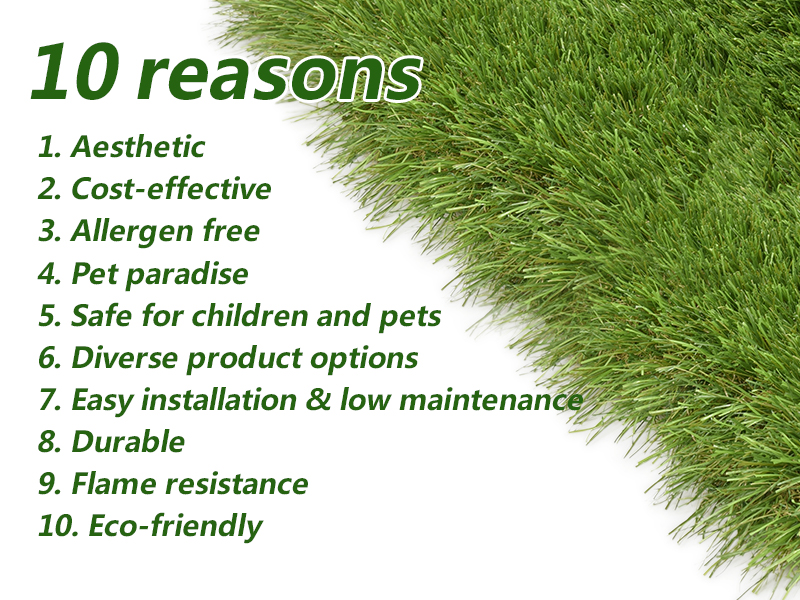 CCGrass, 10 reasons to buy fake grass