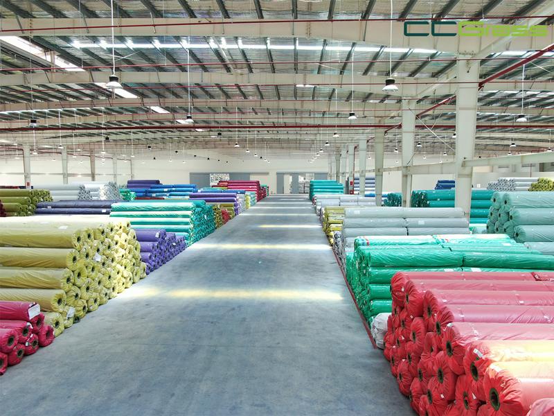 CCGrass, artificial grass factory in Vietnam