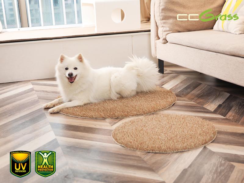 CCGrass, artificial grass for dogs, pet mat
