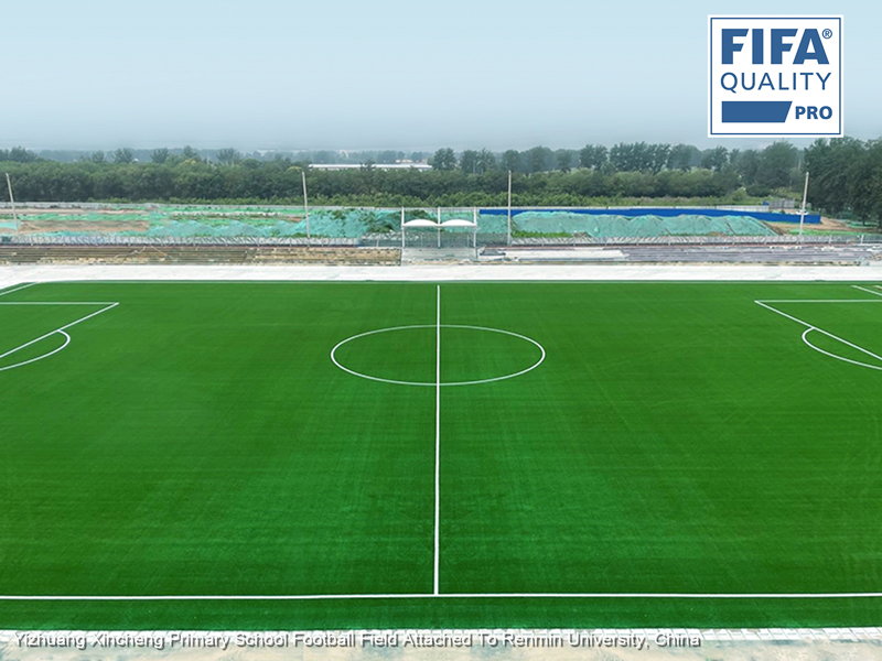 CCGrass, football field, China