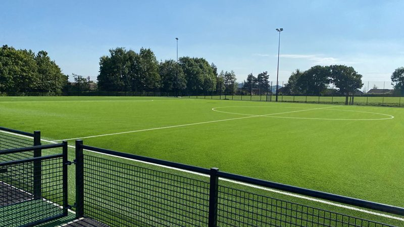 Recent Football Installations in the UK