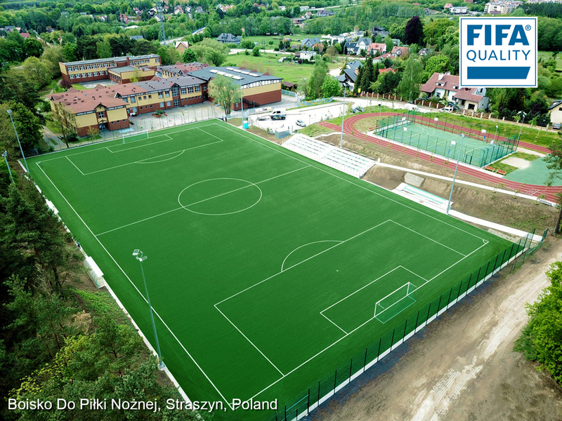 CCGrass, football field, Poland