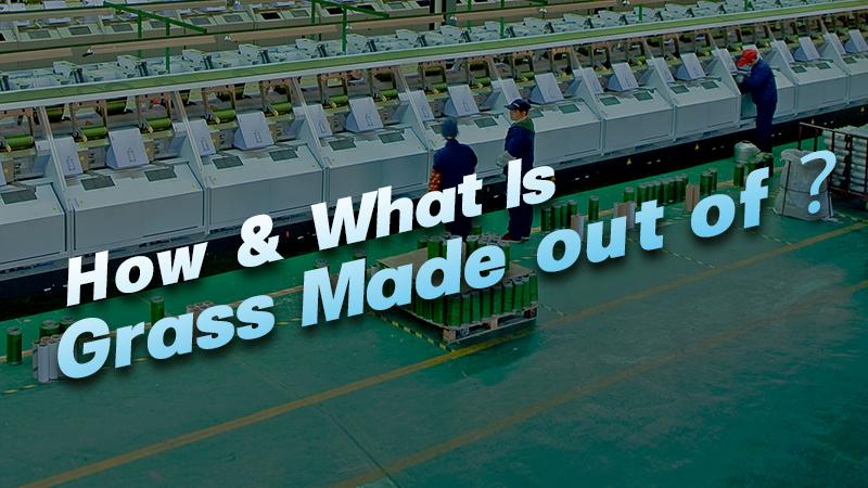 CCGrass, artificial grass manufacturing