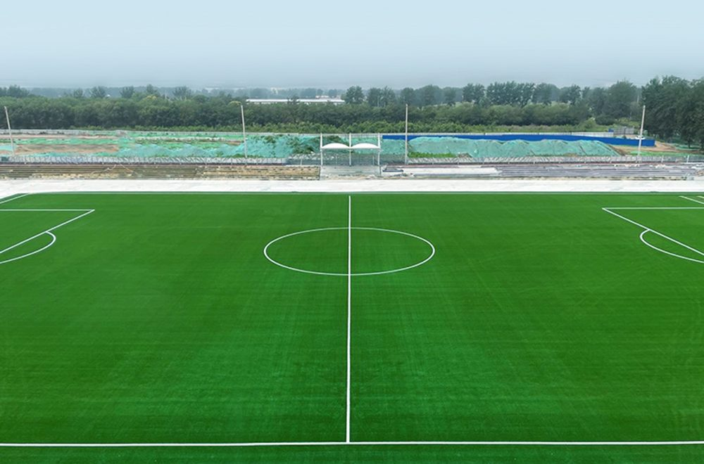 Yizhuang Xincheng Primary School Football Field Attached To Renmin University, China